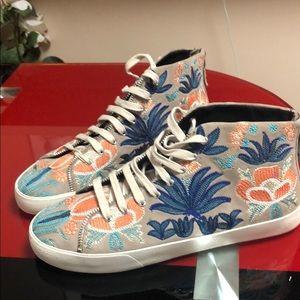 Rebecca Minkoff  Mid sneaker, size 8.5, new